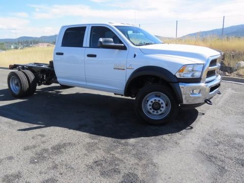 NEW 2017 RAM 4500 TRADESMAN CHASSIS CREW CAB 4X4 173.4 WB