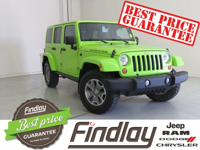 Pre Owned 2012 Jeep Wrangler Unlimited Rubicon