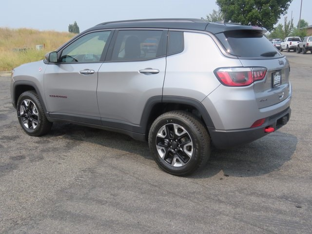 New 2017 Jeep Compass Trailhawk Sport Utility In Post Falls J170389
