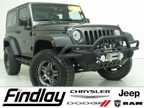 Certified Pre-Owned 2017 Jeep Wrangler Sport S