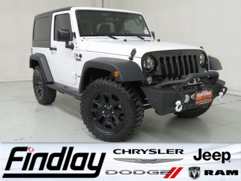 Certified Pre-Owned 2015 Jeep Wrangler Freedom Edition