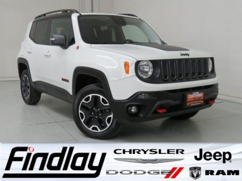 Certified Pre-Owned 2017 Jeep Renegade Trailhawk